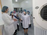 Fanlar akademiyasi Mikrobiologiya institutiga press-tur tashkil qilindi