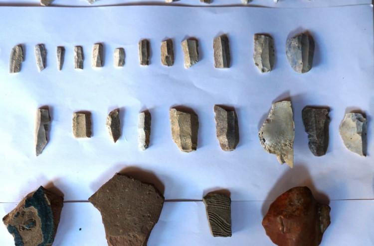 Paleolit davri ustaxonalari va neolit davriga oid yangi makon topildi