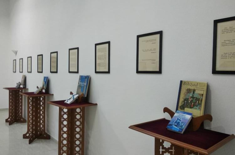 Организована выставка «Амир Темур глазами писателей мира»