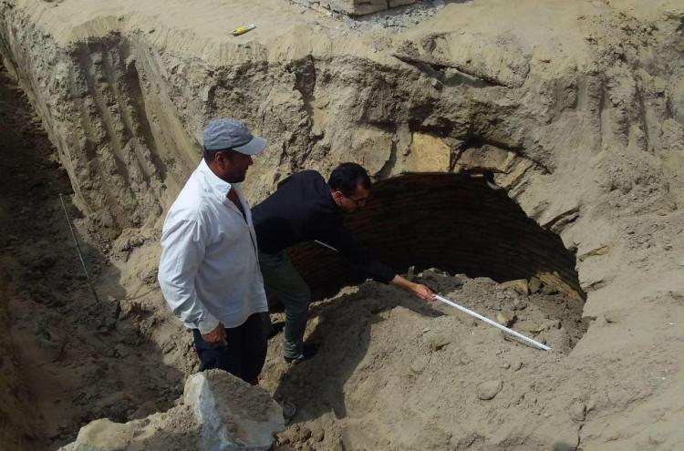 В крепости Ичан-кала обнаружен колодец для сточных вод, относящийся к постханскому периоду
