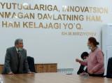 Президент Академии наук встретился с коллективом Института сейсмологии