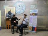 Mероприятие  на станции метро Алишера Навои