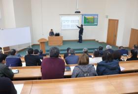 В Навоии состоялись презентации научно-исследовательских учреждений Академии наук