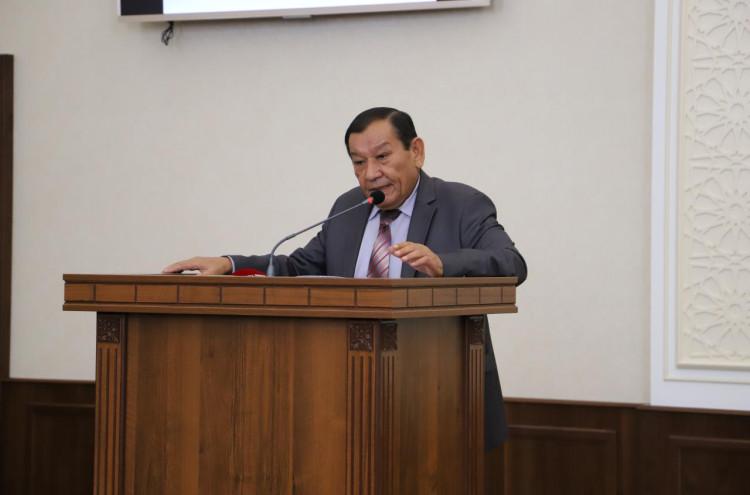 Конференция посвященная тридцатилетия принятия Закона Республики Узбекистан «О государственном языке»