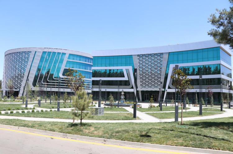 Новое здание Института математики имени В.И. Романовского Академии наук Республики Узбекистан