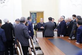 Заседание Президиума АН и Совета директоров