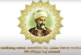 So'z mulkining sultoni, mutafakkir Mir Аlisher Navoiy tavalludining 580 yilligiga bag'ishlanadi