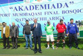 """""""Akademiada 2019"""" mini futbol musobaqalari ochilishi"""