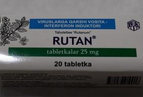"""O'zR FA Bioorganik kimyo instituti olimlari yaratgan viruslarga qarshi """"Rutan"""" preparati"""