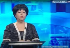Xalqaro muzeylar kuni - O'zbekiston tarixi davlat muzeyi direktori Jannat Ismailova bilan suhbat