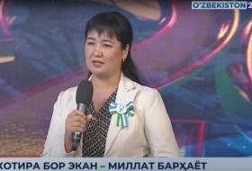 Xotira bor ekan - millat barhayot//Mashhura Darmonova - FA Tarix instituti bo'lim boshlig'i