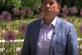 "O'zR FA Botanika instituti Toshkent Botanika bog'idagi ""Global Allium Garden"" Toshkent markazi"